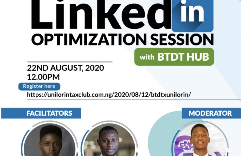 LINKEDIN OPTIMIZATION SESSION WITH BTDT HUB