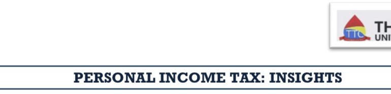 PERSONAL INCOME TAX: INSIGHTS